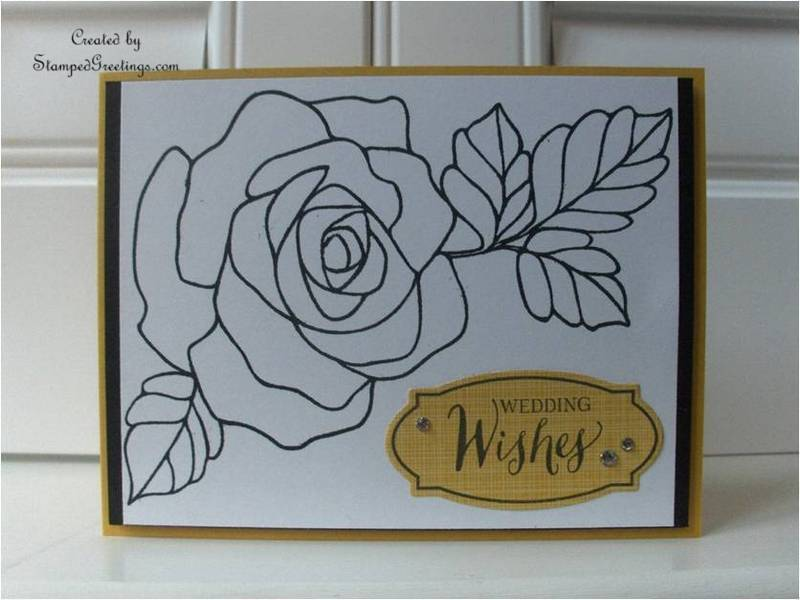 Rose Wonder - Wedding Card